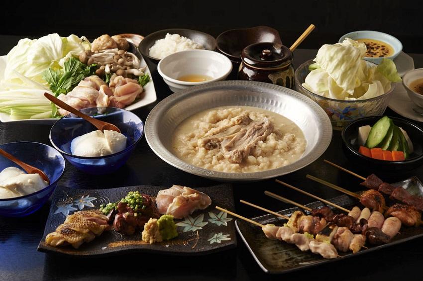 中野にある鶏料理専門の居酒屋「とりいちず」のメニュー