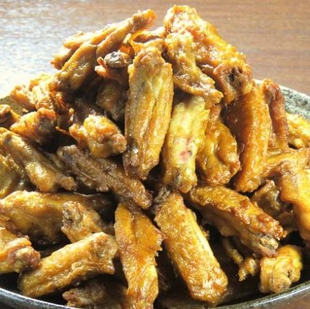 中野の鶏料理専門店[とりいちず]の絶品手羽唐